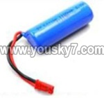 8088-34-Parts-21 3.7V Battery with red plug