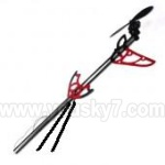 8088-34-Parts-37 Whole tail unit-Red