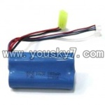 SY8088-36-parts-21 7.4V 1500MAH Battery with yellow plug