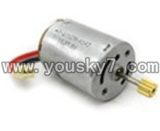 SY-SY8088-45A-parts-16 Main motor with long shaft and gear