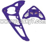 SY8088-57-parts-26 Horizontal and verticall wing(Blue)