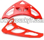 SY8088-58-parts-21 Horizontal and verticall wing(Red)