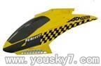 SY-8088-64-parts-01 Head cover(Yellow)