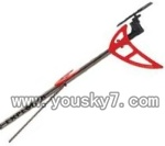 SY-8088-64-parts-36 Whole tail unit-Red