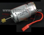 SY-8088-65-parts-12 Main motor with long shaft and gear