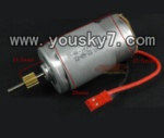 SY-8088-65-parts-13 Main motor with short shaft and gear