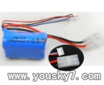 SY-8088-65-parts-14 Battery 11.1V 100mAH Li-Poli battery