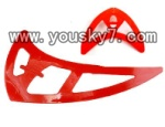 SY-8088-65-parts-28 Horizontal and verticall wing(Red)