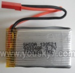 SY-8088-67-parts-17 3.7v 1100mh Battery-Upgrade-More power