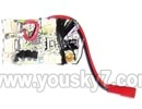 SY-8088-67-parts-19 Circuit board,Receiver board