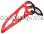 8088-34-Parts-28 Vertical wing-Red