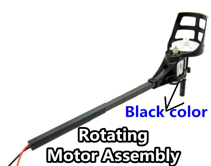 SongYang-X1 Parts-17 Rotating Motor Assembly(The motor cover is Black color)