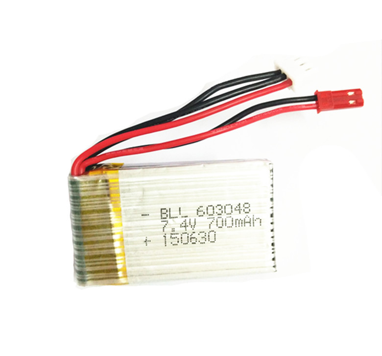 SongYang-X1 Parts-25 Upgrade 7.4v 700mah battery(Size-55X30X12mm)-(Weight-38.8g)