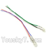 SongYang toys X11 Parts-14 Light wire for the Quadcopter(2pcs)