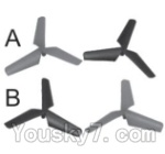 SongYang toys X13 Parts-05 Main rotor blades,Propellers(4pcs)
