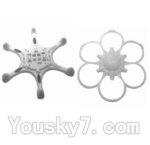 SongYang toys X15 Parts-03 Upper and Bottom shell cover,Bottom canopy