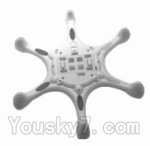 SongYang toys X15 Parts-05 Bottom shell cover,Bottom canopy