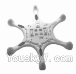 SongYang Toys X16 Parts-05 Bottom shell cover,Bottom canopy