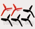 SongYang Toys X16 Parts-09 Main rotor blades,Propellers(6pcs)