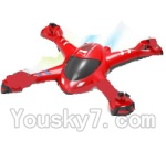 SongYang toys X22 Parts-02 Upper shell cover,Upper canopy-Red