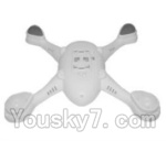 SongYang toys X22 Parts-08 Bottom shell cover,Bottom canopy-White