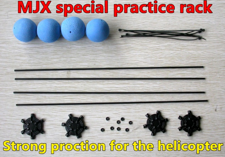 practice rack for the MJX F49/F649 Landing skid Strong protection