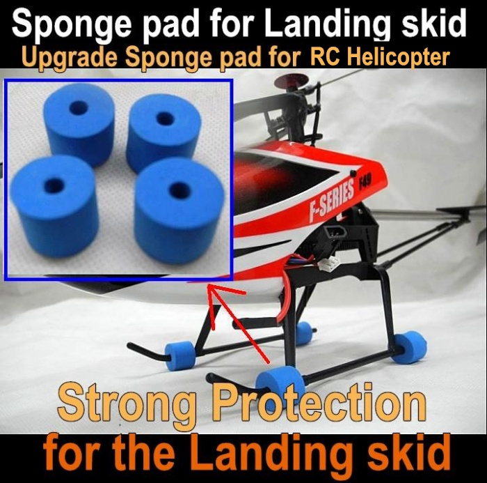 Yousky7.com sponge pad for the Landing skid Strong protection