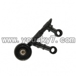 UDI-U1-helicopter-parts-23 rear wheel