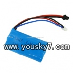 UDI-U12A-helicopter-parts-21 7.4v Li-Polymer Battery