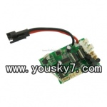 UDI-U12A-helicopter-parts-22 Receiver Board 27mHz