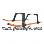 UDI-U12A-helicopter-parts-24 Landing Skid