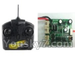 UDI R/C U17-parts-08 Transmitter & Circuit board