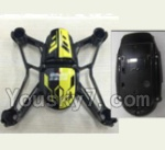 UDIRC U27 parts-02 Upper Main body frame with sheel cover-Yellow & Bottome shell cover