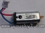 UDI-U8-helicopter-09 Main motor with short shaft and gear