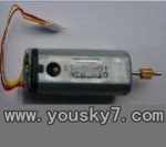 UDI-U8-helicopter-10 Main motor with long shaft and gear