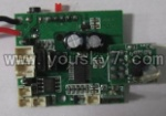UDI-U8-helicopter-23 Circuit board.Receiver board