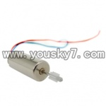 UDI-U809-helicopter-parts-11-Upper blades Main Motor A-Long shaft