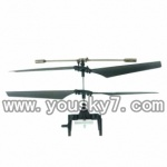 UDI-U809-helicopter-parts-21-Main Rotor Head Main Blade Set