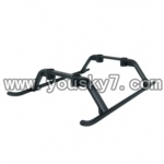 UDI-U809-helicopter-parts-25-Landing Skid