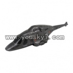 UDI-U810A-helicopter-parts-01-Airframe fuselage,Head cover