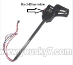 UDI R/C U817C Camera-parts-08 Whole Leg unit set B (Red and Blue wire)