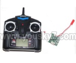UDI R/C U817C Camera-parts-23 Transmitter & Circuit board