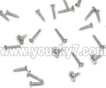 UDI R/C U817C Camera-parts-24 Screws pack set