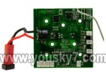 UDI R/C U817W -parts-03 Circuit board