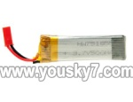 UDI R/C U817W -parts-04 Battery 3.7v 350mah