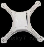 UDIRC-U818S-parts-08 Bottom shell cover-White