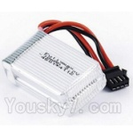 UDIRC-U818S-parts-16 Official 7.4v 1000mah battery