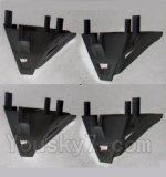 UDIRC-U842-1 parts-23 Motor cover(4pcs)-Black