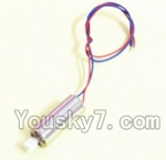 Holy Stone U818A Parts-13 Rotating Motor with red and Blue wire(1pcs)