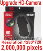 Holy Stone U818A Parts-49 Upgrade HD Camera unit(2,000,000 pixels-Include the Camera,2GB Memory card,Reader)
